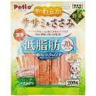 ペティオ (Petio) 犬用おやつ やわらかササミ&ささみ ロングスティックタイプ 低脂肪 野菜入り 200g