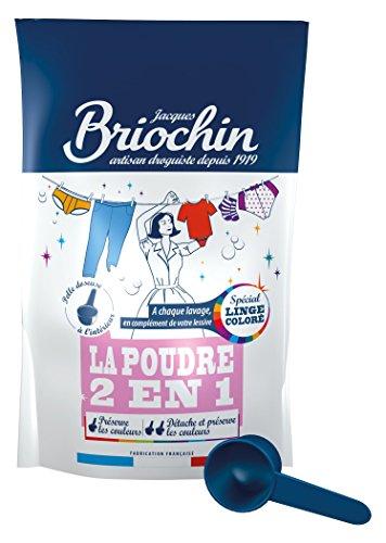 Jacques Briochin 2en1 Poudre Spécial Linge Coloré 500 g - Lot de 2
