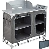 <span class='highlight'><span class='highlight'>TecTake</span></span> 800585 - Camping Kitchen Aluminium, Easy to assemble, Lightweight - different Models (Type 2 | No. 402920)