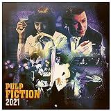 ERIK - Calendario de pared 2021 Pulp Fiction, 30x30 cm, Producto Oficial