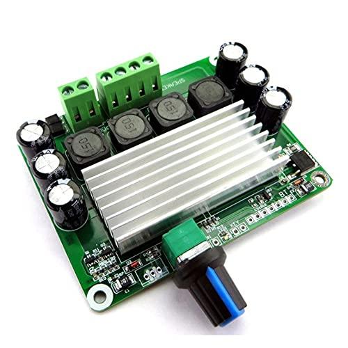 Fauge Placa Amplificadora de Potencia Digital TPA3116 PBTL 100WX2 Placa Amplificadora de Potencia EstéReo Clase D Amplificador 12V 24V, Sin