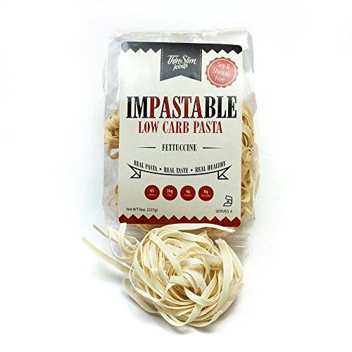 ThinSlim Foods Impastable Low Carb Pasta (Fettuccine)