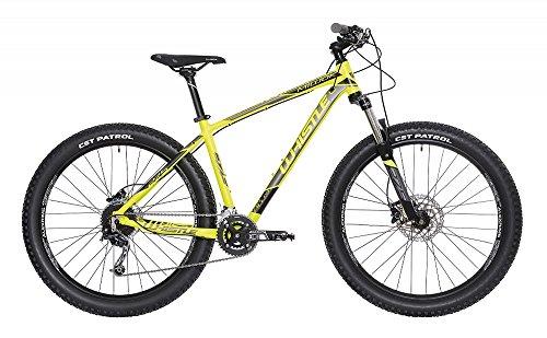WHISTLE Mountain Bike 27,5' Miwok 1721 Plus Giallo Neon - Antracite 18V Misura L 20' (180cm - 190cm)