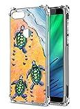 Suhctup Compatible pour Motorola Moto G5S Plus Coque Silicone Transparent avec Clear Motif Mignon...