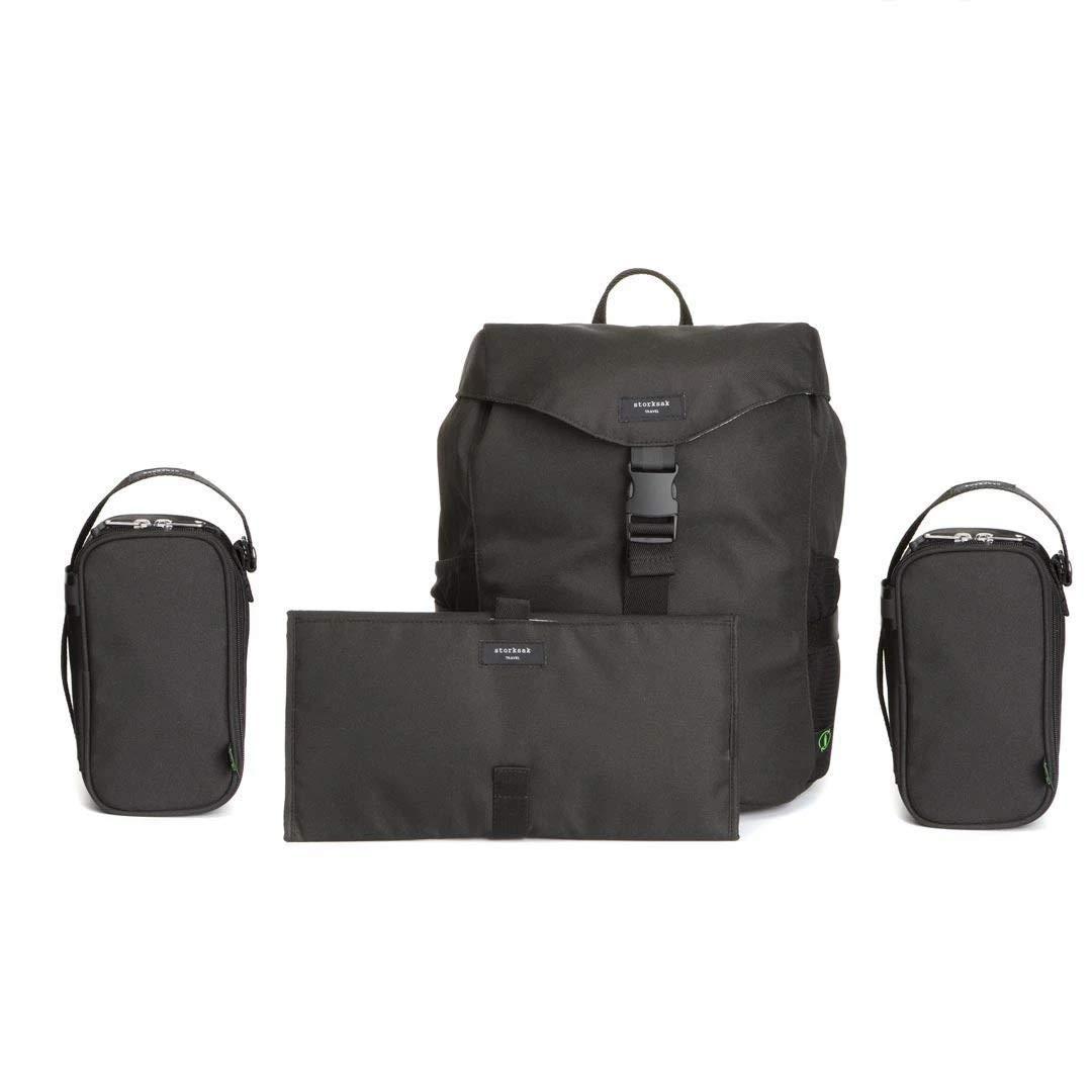 Storksak Eco Backpack Changing Bag - Black