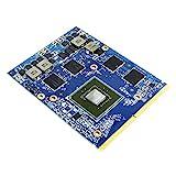 Nuevo reemplazo de tarjeta gráfica de vídeo de 2 GB, para NVIDIA GeForce GTX 660M, para Alienware M17X R2 R4 M18X R1 R2 M15X Gaming Laptop PC, N13E-GE-A2 GDDR5 2 GB MXM 3.0B VGA Junta