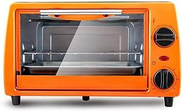 HSF Hogar Mini Horno eléctrico 11 litros Bandeja de Horno Bandeja de Escritorio de Temperatura Ajustable portátil Reloj de Control Microondas con Horno y Grill