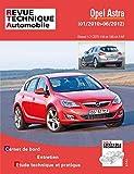 E.T.A.I - Revue Technique Automobile B784.5 - OPEL ASTRA IV - J PHASE 1 - 2010 à 2012