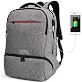 Laptop Rucksack mit USB Ladeanschluss,Tarnung Camouflage Daypack Schultaschen Ruckscke Schulruckscke...