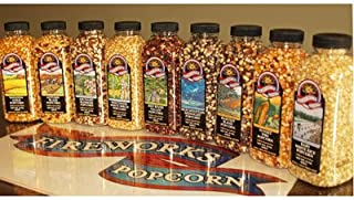 Gourmet Popping Corn - Variety Case of 9 15 oz. bottles, 9 Bottle Variety Pack