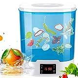 Frutas y Verduras Limpiador Ultrasónico 12L Esterilizador Alimentos Desinfección Equipo de Desintoxicación de la Máquina, los Alimentos Frescos for una Vida Sana