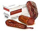 Jamonprive Jamón Serrano Curado Deshuesado 1 kg + Lomo Duroc Natural 250 gr + Chorizo Extra Sarta Dulce 200 gr