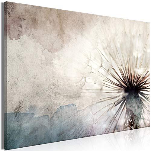 decomonkey Bilder Pusteblume Blumen 120x80 cm 1 Teilig Leinwandbilder Bild auf Leinwand Vlies Wandbild Kunstdruck Wanddeko Wand Wohnzimmer Wanddekoration Deko Abstrakt