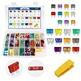 ZHITING 242pc ClearMark Assorted Standard Auto Car Truck Blade Fusibili Set- 2A 3A 5A 7.5A 10A 15A 20A 25A 30A 35A 40A -ATC/ATO + ATM Mini-Automotive-Blade-Fuse Assortment Kit w/A Puller