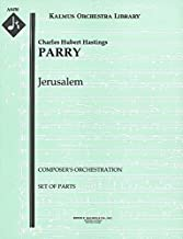 Jerusalem (Composer's orchestration): Set of Parts [A8450]