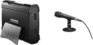 I-O DATA キャプチャーボード ゲームキャプチャー HDMI PC用 USB 3.0 ゲーム実況 録画 編集ソフト付 GV-USB3/HD & SONY エレクトレットコンデンサーマイクロホン PC/ゲーム用 PCV80U ECM-PCV80U