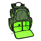 Wild River CLC WN3606 Multi-Tackle, Mulit-Pocket, Large Backpack, Fishing Bag, Without Trays