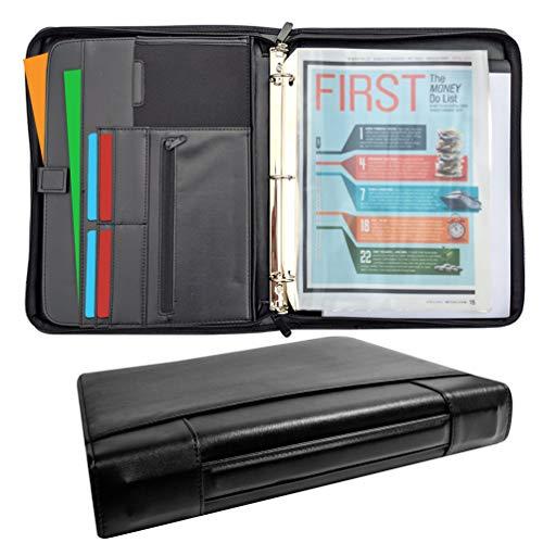 (2019) New Improved- MSP Sale Presentation Briefcase | Portfolio with Binder Pockets, Retractable...