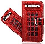 Wiko Harry 2 Handy Tasche, FoneExpert® Wallet Case Flip