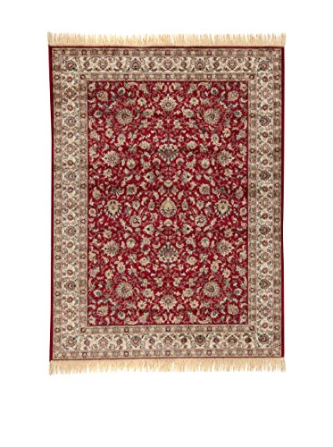 ABC Tappeti Alfombra Farshian Hereke Rojo/Barro 100 x 140 cm