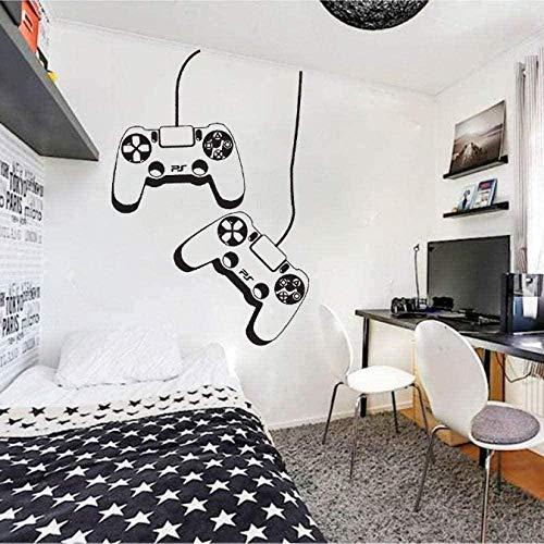 Pegatinas de vinilo para pared, decoración de pared, pegatina DIY para jugador, controlador Ps4, personalización para habitación de niños, sala de juegos, decoración del hogar, 42X32cm