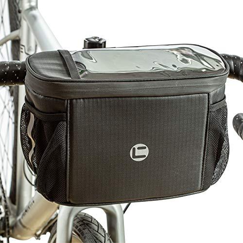 UBORSE Bolsa de Manillar de Bicicleta Bolsa Impermeable para