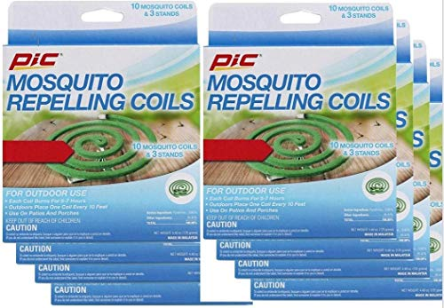 PIC Mosquito Repellent Coils 10 Each (8)
