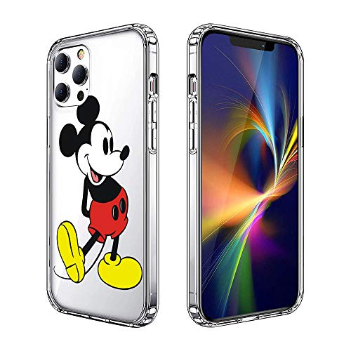Phone Case for iPhone 12 Pro Max Case, Clear Phone Case Individualized Design Cover Case (Mickey-Mouse)