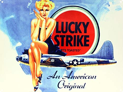 New Lucky Strike an American Original Metal Tin Sign TIN Sign 7.8X11.8 INCH