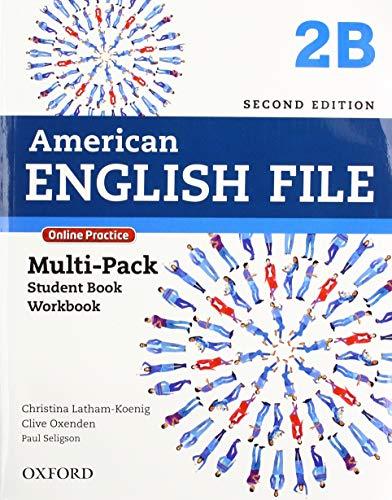 American English File: Level 2: B Multi-Pack