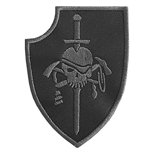 2AFTER1 Subdued US Navy Seals Silver Squadron Kopfjager DEVGRU ST6 NSWDG ACU Morale Hook-and-Loop Patch