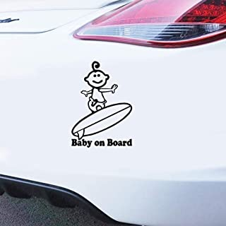 pegatinas de coches Baby On Board Surf Viny Decal Sticker Decal