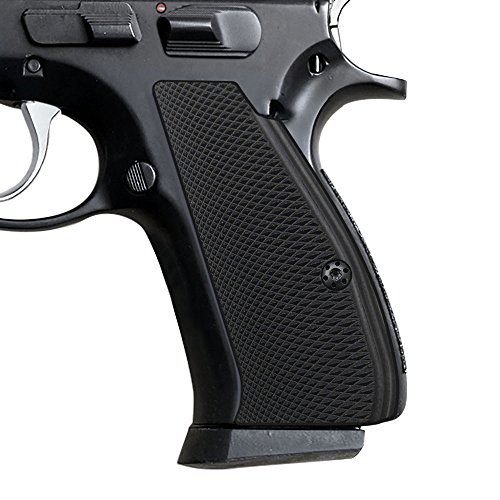 Cool Hand G10 Grips for CZ 75/85 Compact, Free Screws Included, Black, Brand