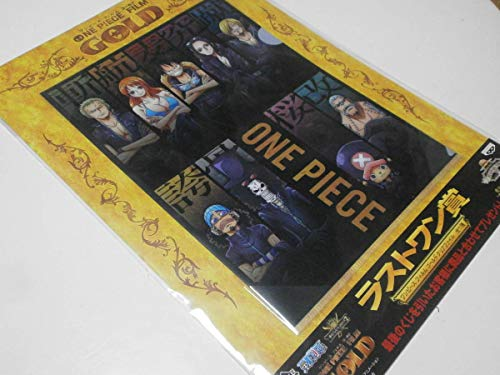 一番くじ BANPREST バンプレスト ONE PIECE FILM GOLD ワンピース フィルムゴールド クリアファイル ラストワン賞 尾田栄一郎