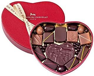 メゾンデュショコラ LA MAISON DU CHOCOLAT ハートギフトボックス S1 15粒入り メゾンデュショコラ チョコレート バレンタイン バレンタインデー ホワイトデー 贈答 ギフト