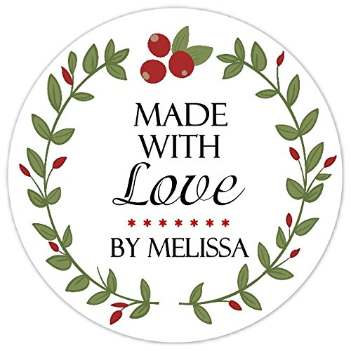 36 Custom Stickers From the Kitchen Labels Personalized Made for You Stickers Canning Labels