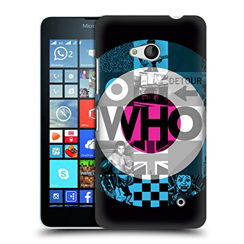 Head Case Designs Offizielle The Who 2019 Target 2019 Album Harte Rueckseiten Huelle kompatibel mit Microsoft Lumia 640 / Dual SIM
