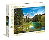 Clementoni - 31680 - Puzzle - High Quality Collection - Bleu Lake - 1500 Pièces