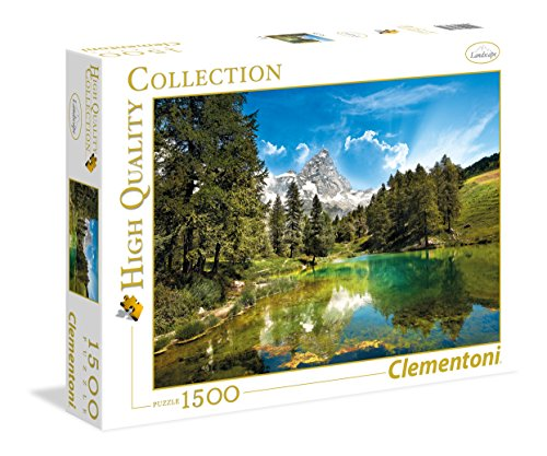Clementoni- Blue Lake High Quality Collection Puzzle, Multicolore, 1500 Pezzi, 31680