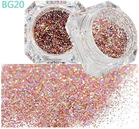 Gabcus All items in the store 1PCS Shiny Diamond Platinum Art Powder Max 46% OFF Nail Galax Glitter