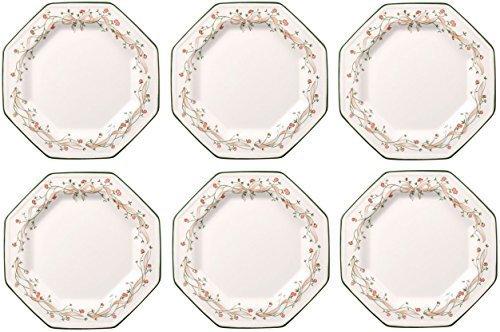 Johnson Bros Eternal Beau - Juego de 6 platos llanos (27 cm)