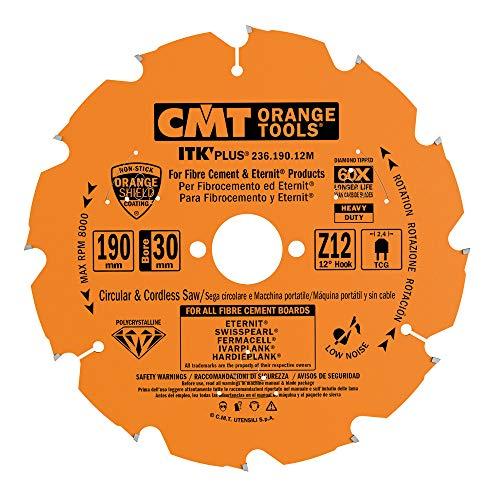 CMT Orange Tools 236,190,12 m scie circulaire en diamant mat. abrasif dp 2,1 190 x 30 x 12 en z.