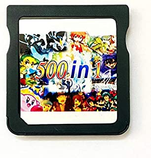 500 in 1 SDHC Mega Combo Games Card Will Work ON DS DSI 2DS 3DS DSIXL 2DSXL 3DSXL