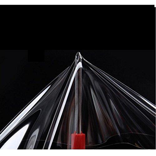 HOHOFILM Kit de film de protection de peinture transparent en polyuréthane thermoplastique PPF auto-réparant pour capot de voiture, 152 cm x 50 cm