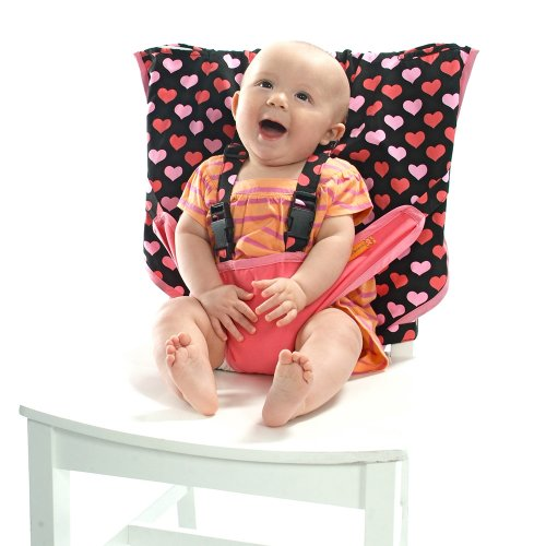 MY LITTLE SEAT Travel High Chair - All My Lovin' - The Original Portable High...