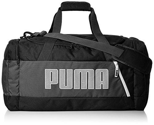 PUMA Fundamentals Sports Bag M II Sporttasche, schwarz, 61 x 32 x 5 cm