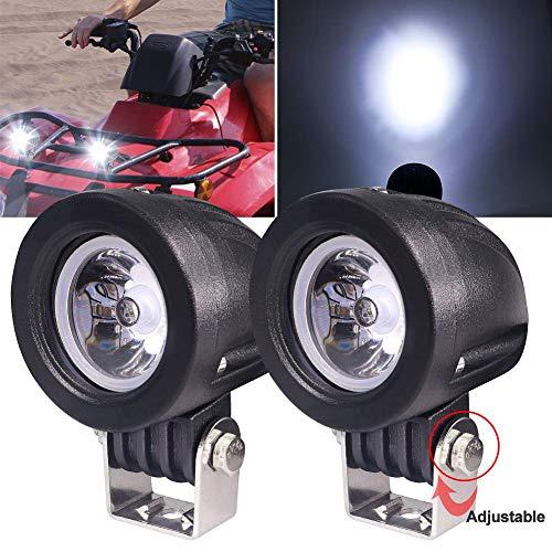 Biqing 2Pcs Faros Antiniebla Lámparas Auxiliares del LED,10