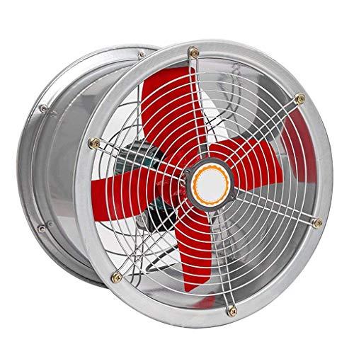 Extractor De Baño, Extractor de baño, ventilador, extractor de cocina, ventilador para cocina/industrial, purificación eficiente, cuerpo de metal reforzado (tamaño: 12 pulgadas) (Size : 12 inc