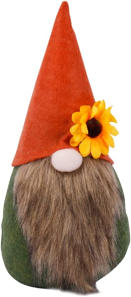 xzbnwuviei Thanksgiving Autumn Max 70% OFF Maple Deco Leafless Faceless Doll free