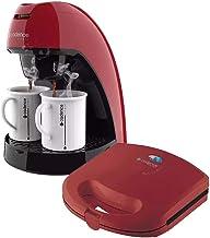 Kit Café Cafeteira E Sanduicheira Cadence Vermelha 220 V++